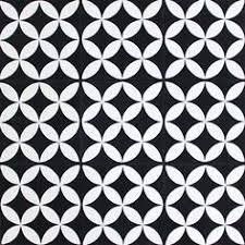 black and white tile pattern. Contemporary Pattern Moroccan Cement Tile  Sizes And How To Order Information Can Be Found  Below Size 2020cm Product Details Pattern Code 10143 Colours N  Inside Black And White Tile D