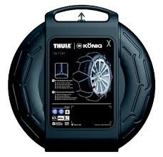 Konig T2 Magic Snow Chains Size Chart Konig T2 Magic 265 Chains Snow Review Size Guide Thule Easy