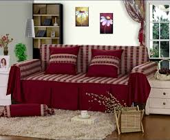 ideas furniture covers sofas. Covers Sofa Rectangular Shaped Red Coloured Soft Comfortable Modern Stylish Patterns Slipcover Washable Pillows Cute Feminine Ideas Furniture Sofas E