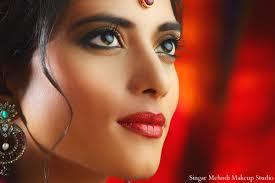 indian wedding bridal makeup inspiration shoot