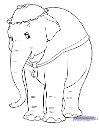 Baby Dumbo Coloring Pages Coloring Pages Dumbo Coloring Book Pages