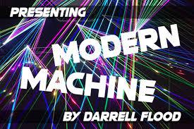 Impact is a trademark of stephenson blake (holdings) ltd. Modern Machine Font Darrell Flood Fontspace
