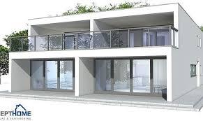 Smart placement two storey duplex house plans ideas on luxury building