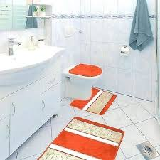 bath rug contour pretty red and gray bathroom rugs 1 of scroll 3 piece bathroom bath rug contour
