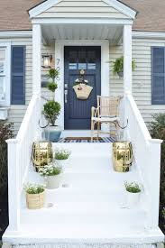 Front Stoop Design Plans Adorable Front Porch Design Pictures Swanky Small Ideas