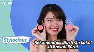 rekomendasi blush on merek lokal harga murah dibawah 50rb emina pixy wardah la tulipe