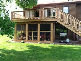 screened in patio under deck design and ideas areas with regard to designs 12