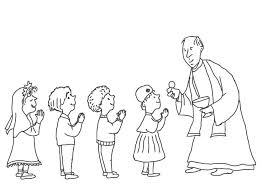 Coloring Pages For Kids Page First Communion Moregoodstuff