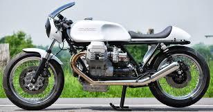 black and white moto guzzi le mans 3