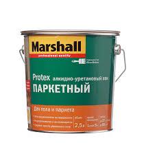 <b>Лак алкидно</b>-<b>уретановый</b> паркетный Marshall <b>Protex</b> бесцветный ...