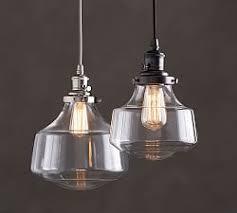 pendant lighting ideas. PB Classic Schoolhouse Glass Pendant Lighting Ideas E