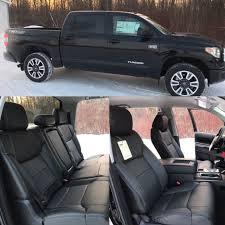 2016 2017 18 toyota tundra crewmax katzkin black leather seats sr5 trd 2016 2016