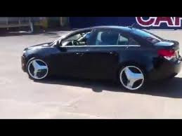 Chevy Cruze Bolt Pattern Custom HANDSOME 's Custom Chevy Cruze On 48 Inch Blades Rims YouTube