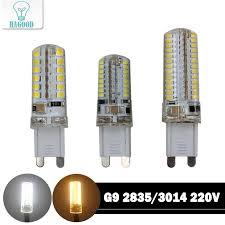 g9 led lamp mini led bulb 220v smd 2835 3014 for spotlight chandelier high quality lighting replace halogen lights outdoor led bulbs led headlight bulb from
