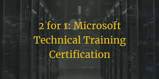 Microsoft Free Certification Microsoft Certification Training Promotion Buy One Get One Free