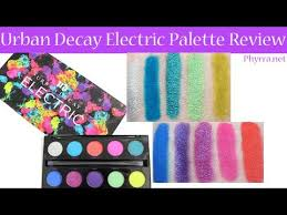 urban decay cosmetics electric pressed pigment palette. urban decay electric pressed pigment palette review - bright cruelty free eyeshadows cosmetics youtube