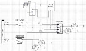 wig wag wiring diagram wig wag wiring diagram \u2022 wiring diagram Wiring Diagram For Galls Headlight Flasher rolling my own wig wag circuit andrew's rv 7 build log both switches off galls wig wiring diagram for galls headlight flasher