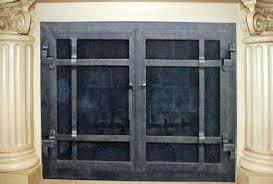 Amazing Fireplace Door Handles DealsBlack Fireplace Doors