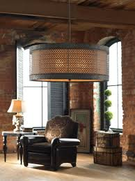 drum shade pendant lighting. 3 light hanging drum shade chandelier tuscan pendant fixture neiman marcus lighting