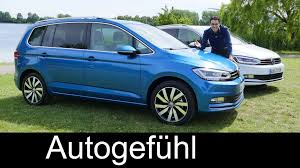 all new volkswagen vw touran full review test driven mpv 2016