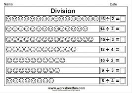 Math. homework sheets for 3rd grade: Worksheet Ks Division ...