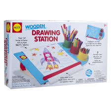 wooden drawing station 1