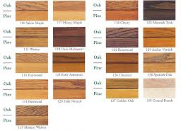 Walnut Wood Stain Color Chart Ugl Zar Oil Based Wood Stain Gallon