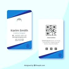 Id Free Card Download Psd File Vector Template Employee Student