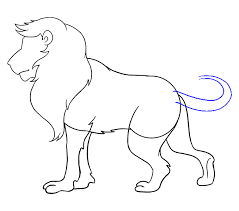 lion drawing. Unique Drawing How To Draw Lion Step 16 Inside Lion Drawing