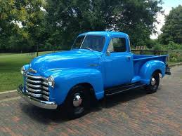 Purchase used 1951 Chevrolet 3100 Pickup Truck Blue in Newport ...