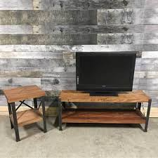industrial tv stand. Monroe Industrial Acacia TV Stand Tv