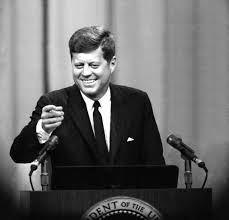 best john f kennedy images john f kennedy the  the kennedy smile shined frequently in public appearances such as this news conference at the