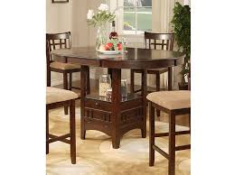 counter height pedestal table