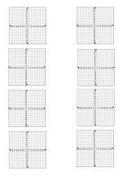 Math Worksheets Graph Paper 49 Worksheet 4 Best Images Of Printable