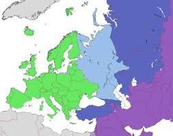 World Map Europe And Asia Boundaries Between The Continents Of Earth Wikipedia