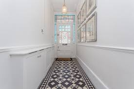 dc derata 26 cloncurry street sw6 6ds 55 edit2 another white hallway decorated with stained glass windows