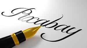 free photo beautiful scripture pixabay pen calligraphy art max pixel