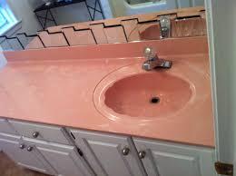 Refinish Bathroom Countertop Refinishing Bathroom Sink Bathroom Sinks Decoration