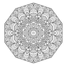 Small Picture Mandala Coloring Pages Color Online Coloring Pages