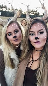 deer make up diy antlers ears deer makeup antlers