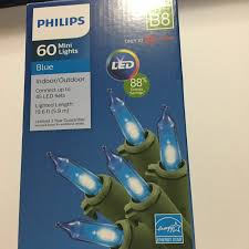 Philips String Lights Philips Mini String Lights Indoor Outdoor Patio Christmas White Or Blue Led