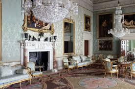 Interiors The Saloon Saltram House Plympton England - Manor house interiors