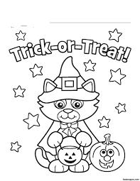 Free Halloween Printables To Colorl