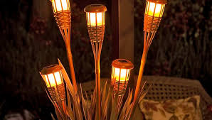 tiki lighting. 15 Easy DIY Projects To Make Your Backyard Awesome | Tiki Torches, Torches And Torch Light Lighting E
