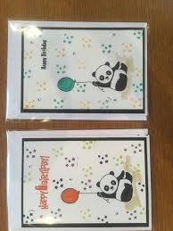 Pin by Ida Swanson on Party pandas | I card, Cards, Happy birthday
