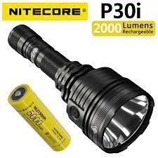 NITECORE P30i 2000 lümen 1000 metre uzun menzilli arama el feneri ile  donatılmış NL2150HPi pil|LED Flashlights