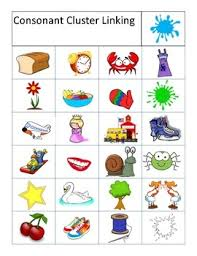 Consonant Blends Chart Consonant Blends Charts And Flashcards