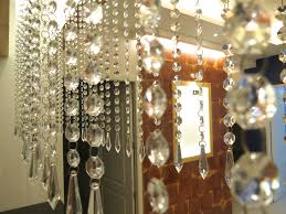 hexagonal acrylic crystal chandelier