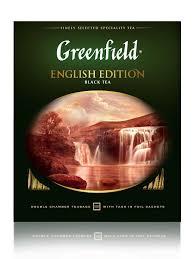 <b>Чай черный</b> в пакетиках <b>English</b> Edition, 100 шт <b>Greenfield</b> ...