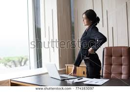 dizzy office furniture. Fine Furniture Asian Woman Working Hard And Feeling Dizzy At Office With Office  Syndrome Concept On Dizzy Office Furniture